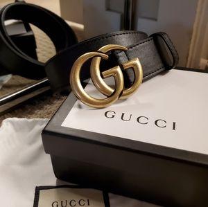 Unisex Thick Gucci Belt
